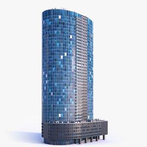 skyscraper building 14 3D