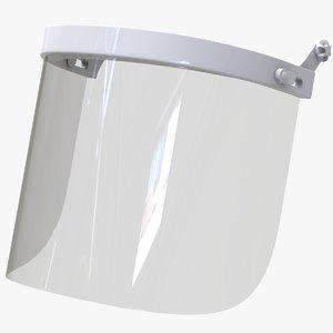 visor protection glass model