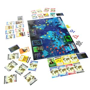 3D pandemic board