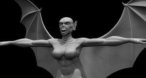 dracula ghost 3D model