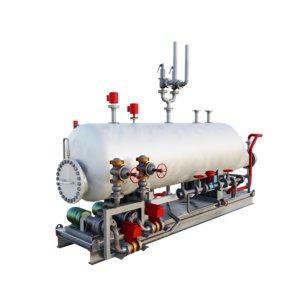tank unit refinery 3D model