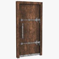 Medieval Door 01