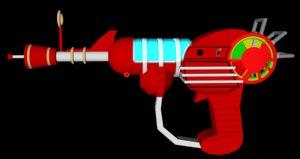 gun duty black ops 3D model