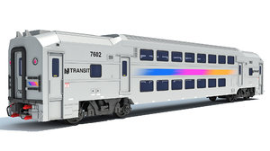 jersey nj double deck 3D model