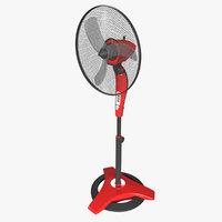 Adjustable-Height Pedestal Fan