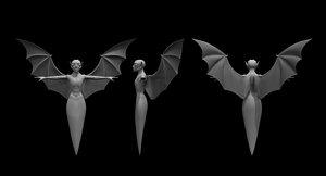 3D ghost dracula model