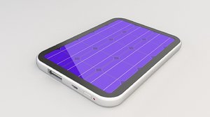 3D power solar portable model