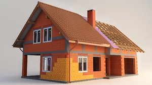 3D model home construction 2