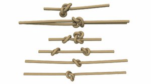 ropes tool industrial model