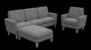 furniture sofa model