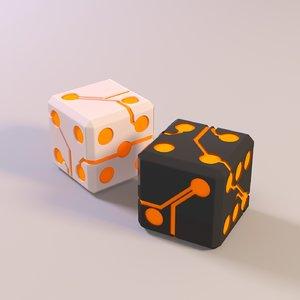 board cube model