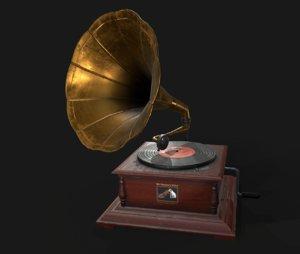 3D master gramophone