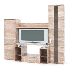 3D tv shelf