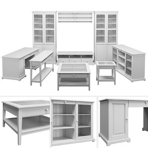 3D furniture set model