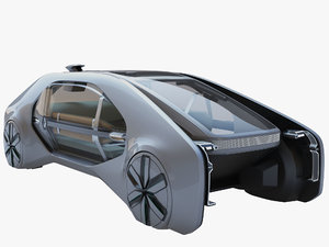 3D model renault ez-go concept