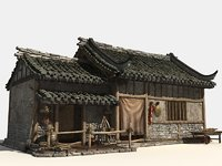 Chinese Old House 1