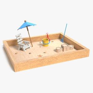 sandbox pbr 3D model