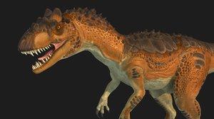 allosaurus 3D