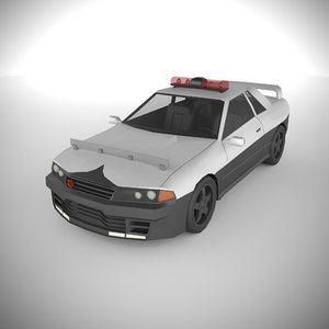 3D polycar n79 lp1 cars model