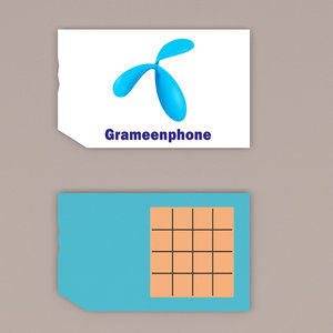 grameenphone sim card cell phone model