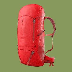 3D backpack hiking