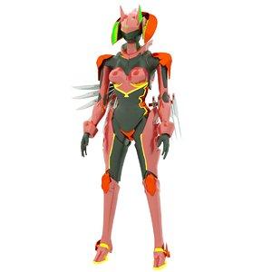 design robot 3D model