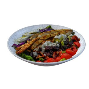 nodel chicken cobb salad 3D model