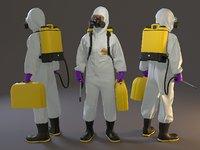 Biohazard Suit Female ACC 2130 005