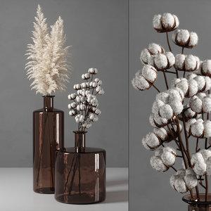 3D decorative vase 09 model