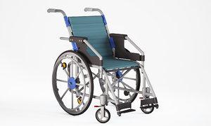 3D wheel chair wheelchair