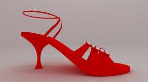 woman shoe manolo model