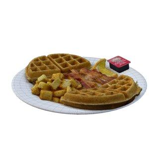 3D breakfast champions
