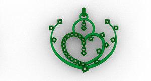 jewellery pendant model