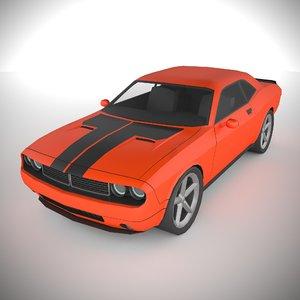 3D polycar n81 lp1 cars model