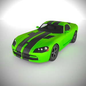 polycar n82 lp1 cars 3D model