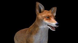 3D fox modelling