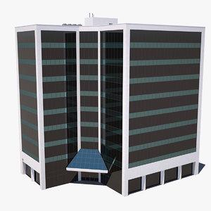 3D building city
