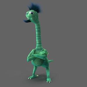 3D model dinosaur dragon