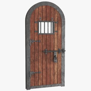 real old door 3D