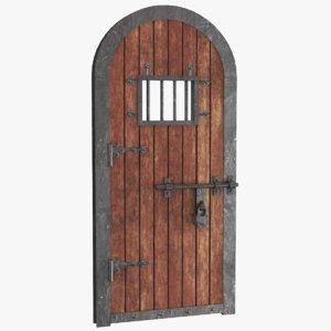 real old door 3D