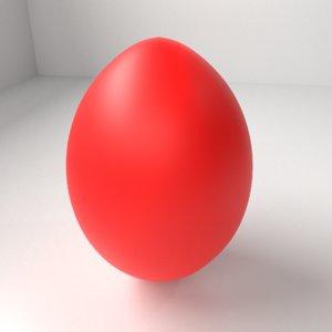 red easter egg 6 3D model
