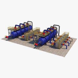 industrial element 9 3D