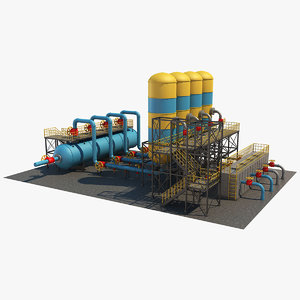industrial equipment 5 3D model