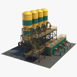 3D industrial storage 1