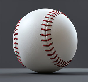 baseball ball 3D