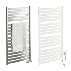 3D metal heated towel rails