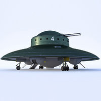 Nazi UFO Haunebu 2