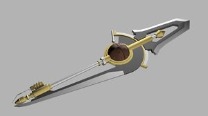 weapon fran fate 3D