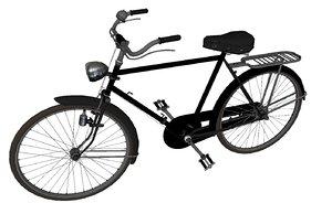 old school bike 3D model