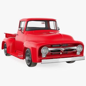 3D 1956 f100 pickup truck